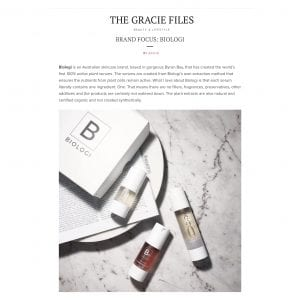 THE GRACIE FILES