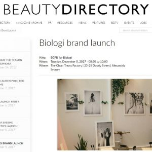 AS SEEN ON… THE BEAUTY DIRECTORY