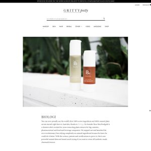 AS SEEN ON… GRITTY PRETTY